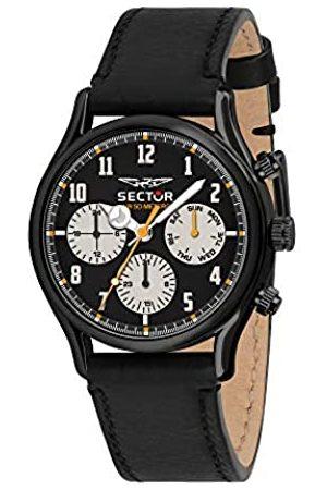 Sector No Limits Sector No Limits Herren Multi Zifferblatt Quarz Uhr mit Leder Armband R3251517001