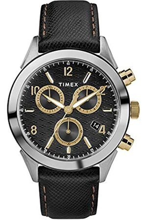 Timex Timex Herren Chronograph Quarz Uhr mit Leder Armband TW2R90700