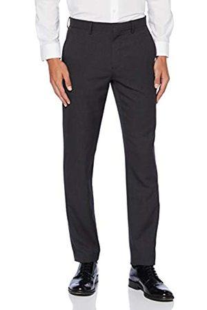FIND Amazon-Marke: find. Herren Hose Slim Fit Textured Formal, 36W / 33L