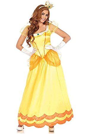 Leg Avenue Damen Anzüge - 85559 2 teilig Set Sonnenblumen Prinzessin, Damen Karneval Kostüm Fasching, S