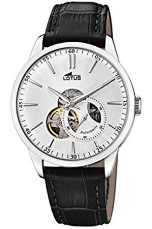 Lotus Lotus Herren Analog Automatisch Uhr mit Echtes Leder Armband 18536/1