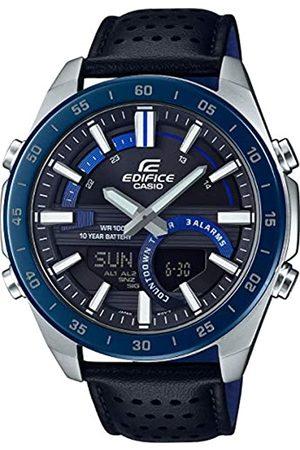 Casio CASIO Herren Analog – Digital Quarz Uhr mit Edelstahl Armband ERA-120BL-2AVEF