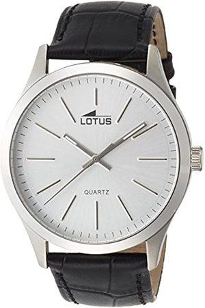 Lotus Lotus Herren Analog Quarz Uhr mit Leder Armband 15961/1