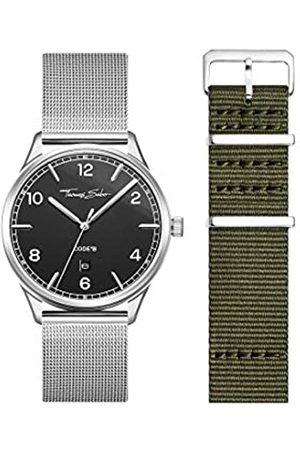 Thomas Sabo THOMAS SABO Unisex Code TS Uhr und Armband Edelstahl Milanaisearmband LOOK19_02_013