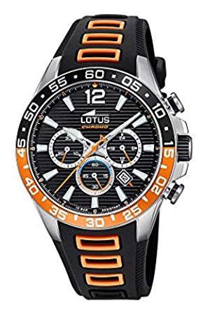 Lotus Herren Chronograph Quarz Uhr mit Gummi Armband 18697/1