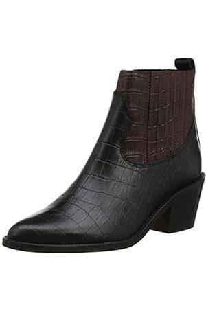New Look New Look Damen Chestnut Stiefeletten, Schwarz (Black Pattern 9)