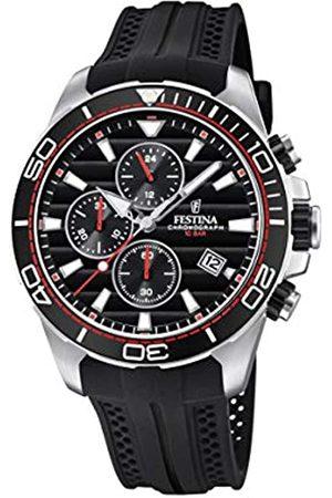 Festina Festina Herren Chronograph Quarz Uhr mit PU Armband F20370/6