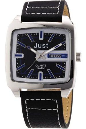 Just Watches Just Watches Herren-Armbanduhr Analog Quarz Leder 48-S3726-BL