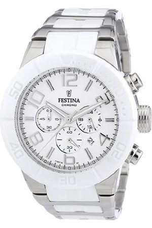 Festina Festina Unisex Chronograph Quarz Uhr mit Edelstahl Armband F16576/1
