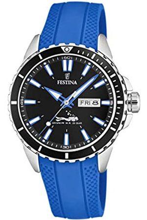 Festina Festina Herren Analog Quarz Uhr mit PU Armband F20378/3