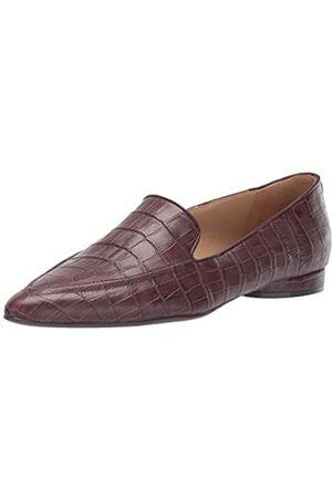 Naturalizer Damen Haines Slip-ons Loafer, (Bordeaux Crocco)