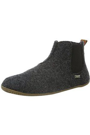 Living Kitzbühel Unisex-Erwachsene Chelsea Boots unifarben Hohe Hausschuhe, (anthra 600)