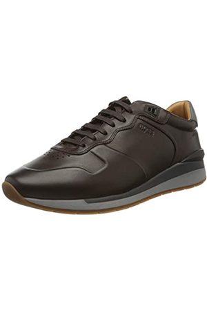 HUGO BOSS BOSS Herren Element_Runn_burs2 10214643 01 Sneaker, Braun (Dark Brown 209)