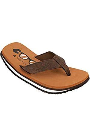 Cool Shoes Cool Shoes Herren Original Zehentrenner, Marron (Tobacco 01121)