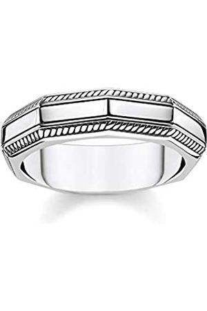 Thomas Sabo Thomas Sabo Unisex-Ring Eckig 925 Sterlingsilber TR2276-637-21-62