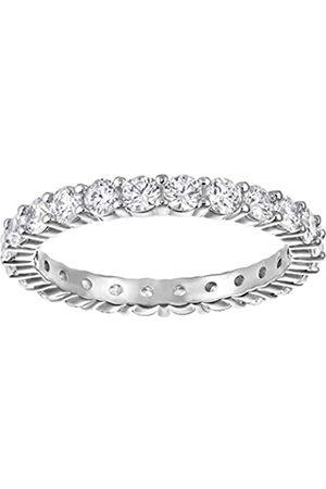 Swarovski Swarovski Damen-Ring Platiniert Kristall transparent Rundschliff 5237742