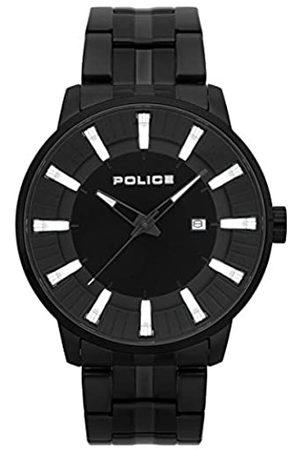 Police Police Herren Chronograph Quarz Uhr mit Edelstahl Armband PL.15391JSB/02M