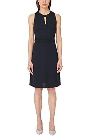 s.Oliver S.Oliver BLACK LABEL Damen Figurbetontes Kleid mit Spitze true blue 40