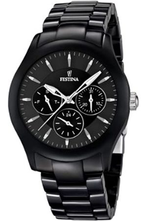 Festina Festina Unisex Analog Quarz Uhr mit Keramik Armband F16639/2