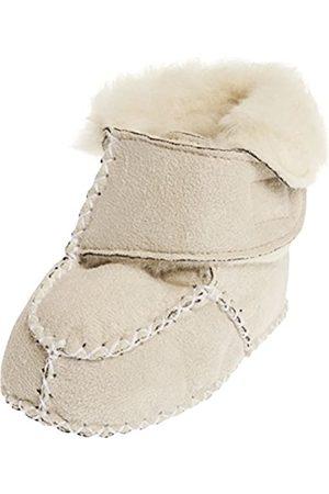 Playshoes Playshoes Baby-Hausschuhe mit Klettverschluss, Beige (natur 2)