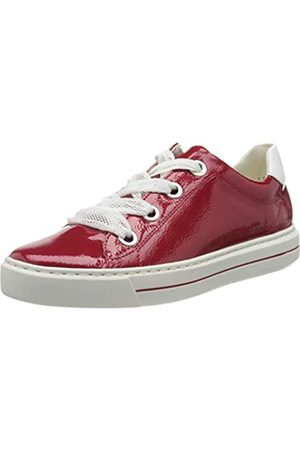 ARA Ara Damen COURTYARD Sneaker, Rot (Rosso, Weiss 11)