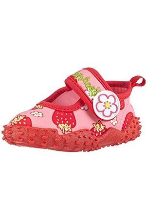 Playshoes Mädchen Aqua-schuhe Erdbeeren, Pink (original 900)