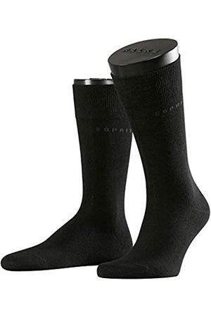 Esprit Herren Socken & Strümpfe - Herren Socken Basic Uni 2-Pack, Baumwolle, 2er Pack