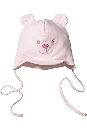 Sterntaler Schirmmütze für Mädchen mit Bindebändern, Nackenschutz und niedlichem Bärchen-Motiv, Alter: 6-9 Monate