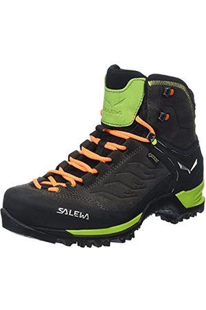 Salewa Herren MS Mountain Trainer Mid Gore-TEX Trekking-& Wanderstiefel, Black/Sulphur Spring
