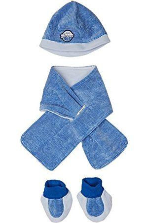 Timberland Timberland Baby-Jungen ENS. Bonnet+ECHARPE+Chaussons Strickmütze