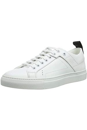 HUGO BOSS HUGO Mayfair DetLow Cut-C, Damen Sneaker, Weiß (White 100)