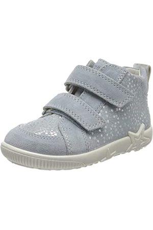 Superfit Superfit Baby Mädchen Starlight Sneaker, Blau (Hellblau 85)