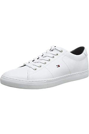 Tommy Hilfiger Tommy Hilfiger Herren Essential Leather Sneaker, Weiß (White 100)