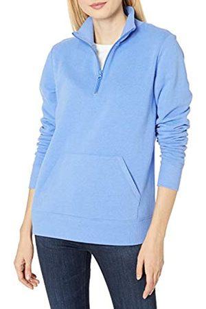 Amazon Long-sleeve Lightweight French Terry Fleece Quarter-zip Top fashion-sweatshirts, meliert