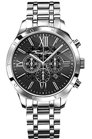 Thomas Sabo Thomas Sabo Herren Armbanduhr Chronograph Quarz Edelstahl WA0015-201-203-43 mm