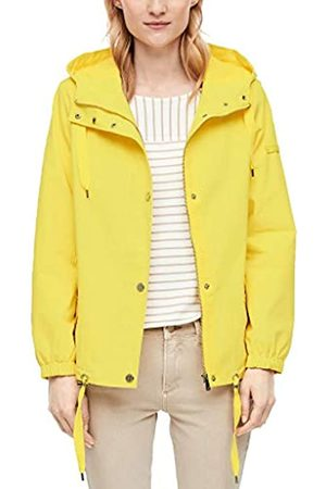 s.Oliver S.Oliver RED LABEL Damen Leichte Jacke mit Kapuze yellow 38