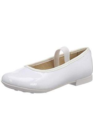 Geox Geox Mädchen JR PLIE' D Geschlossene Ballerinas, Weiß (White C1000)
