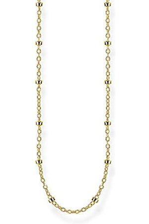 Thomas Sabo Thomas Sabo Unisex-Erbskette 925 Sterlingsilber gelbgold vergoldet KE1890-413-39-L50v