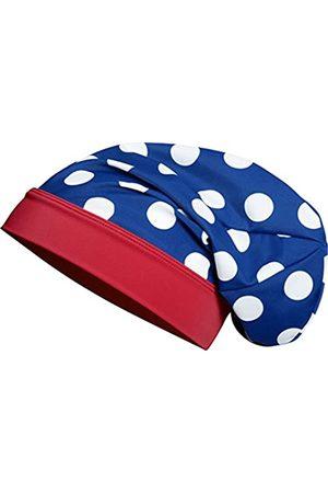 Playshoes Beanie große Punkte Seepferdchen mit UV-Schutz, Mädchenhut, ( / weiß)