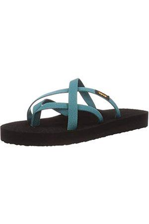 Teva Damen Olowahu Sandal Womens Pantoffeln, (Deep Lake Dlk)