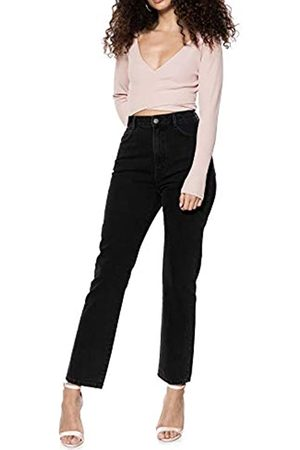 Ivy Revel DE Ivy Revel DE Damen Denim HIGH Waist Straight Jeans
