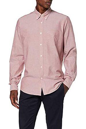 FIND Amazon-Marke: Regular Oxford Hemd, S