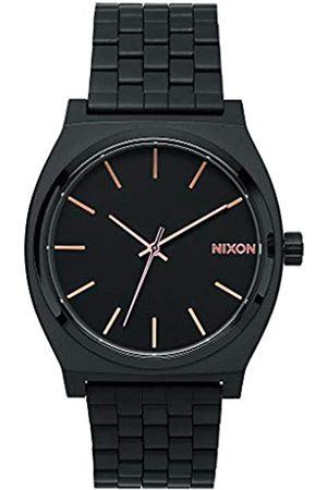 Nixon Nixon Damen Analog Quarz Uhr mit Edelstahl beschichtet Armband A045957-00