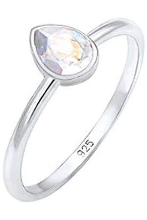 Elli Elli Ring Tropfen Swarovski® Kristalle Elegant 925