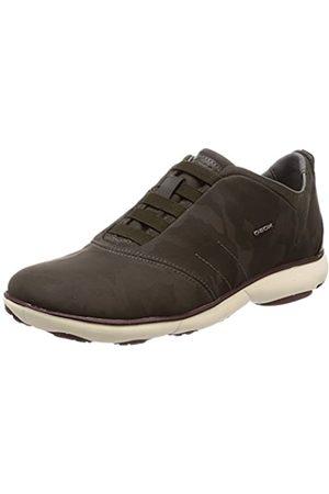 Geox Geox Herren U Nebula F Slip On Sneaker, Braun (Dk Taupe C6692)