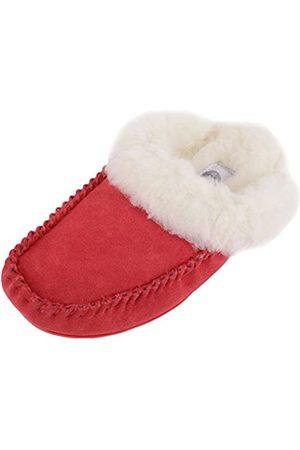 Snugrugs SNUGRUGS Damen Alisa Pantoffeln, Rot (Crimson Crimson)