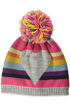 maximo Maximo Baby-Mädchen mit Ringel und Herz und Pompon Mütze