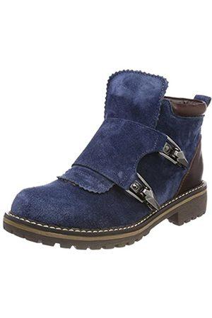 Hirschkogel by Andrea Conti Damen 3004553 Stiefel, (Jeans/Kombiniert)