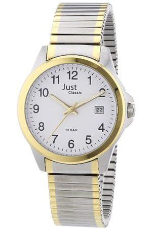 Just Watches Just Watches Herren-Armbanduhr XL Analog Edelstahl 48-S2307B-WH
