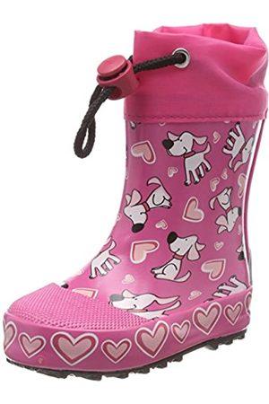 Beck Beck Mädchen Hunde Gummistiefel, Pink (Pink 06)